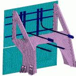 Radiateur composite/métallique pour satellite / Composite/Metallic radiator assembly for spacecraft